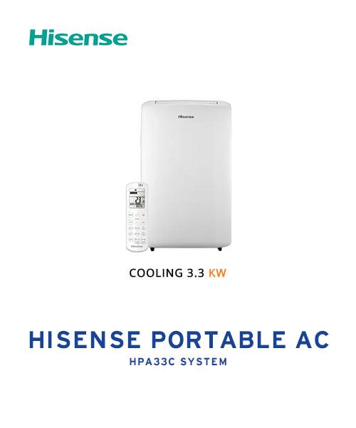 Hisense 3.3KW HPA33C