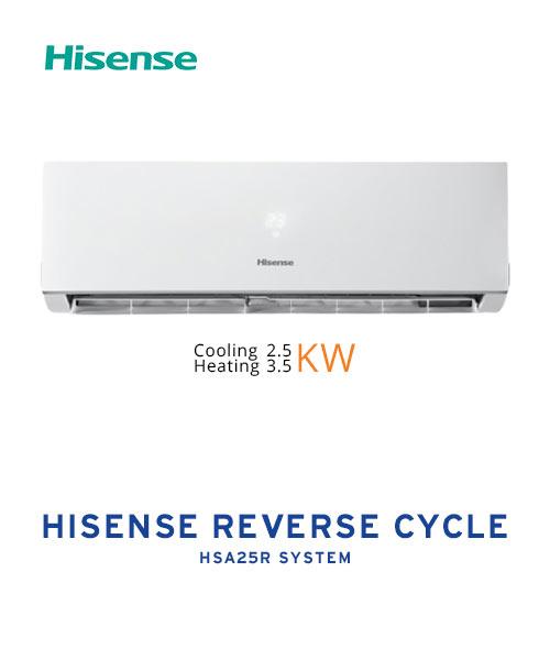 Hisense HSA25R 2.5KW