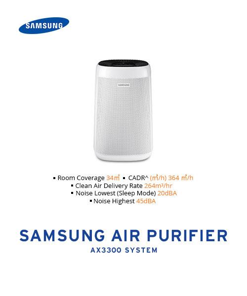 SAMSUNG-AIR-PURIFIER AX3300